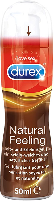 Durex Natural Feeling Lubricant - 50 ml (silicone based)