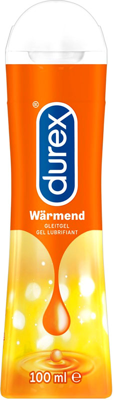 Durex Play Hot/Warming Lubricant Gel - 100 ml (water based)