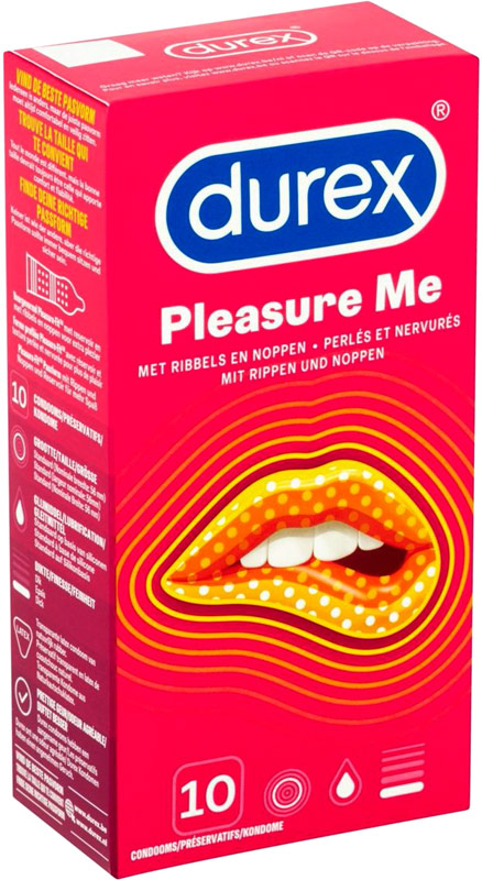 Durex Pleasuremax (10 Condoms)