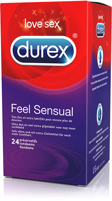 Durex Feel Sensual (24 Condoms)