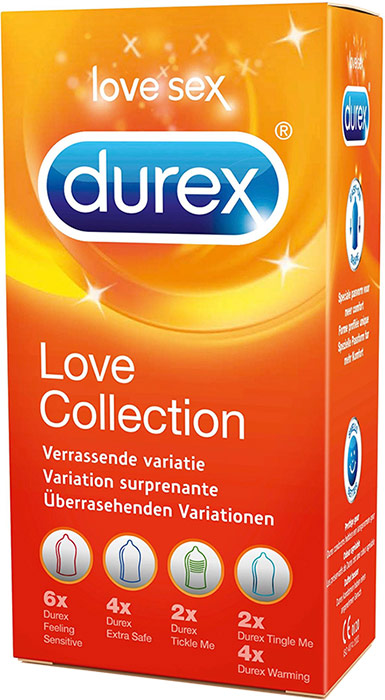 Durex Love Collection (18 Kondome)