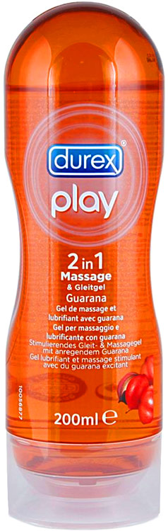 Durex Play Massage 2 in 1 Guarana - 200 ml