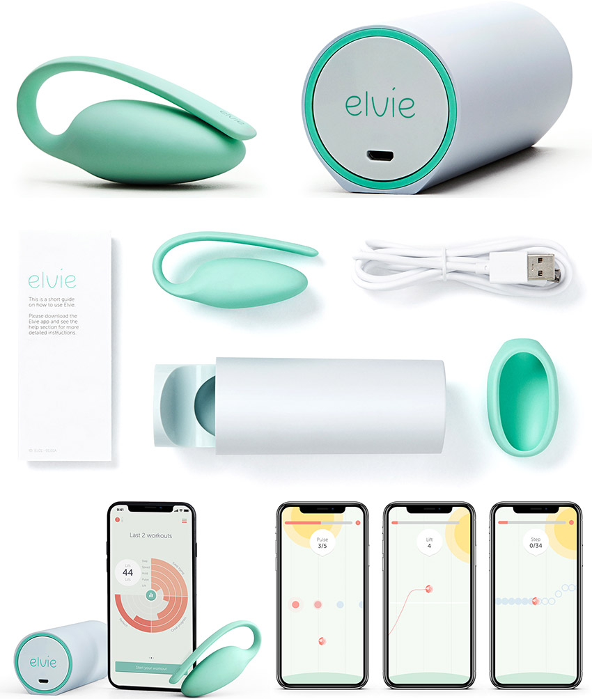Elvie Trainer - Connected perineal rehabilitation device