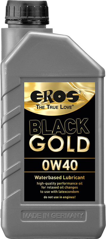 EROS Black Gold 0W40 lubricant - 1 l (water-based)