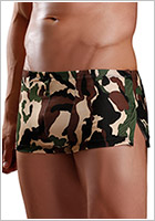 Excite Boxer Shorts - Camo Snap Shorts - Camouflage (S/L)