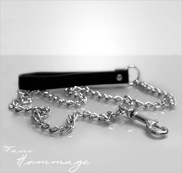 Faire Hommage leather Leash