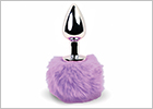 Plug anal FeelzToys Bunny Tails - Violet
