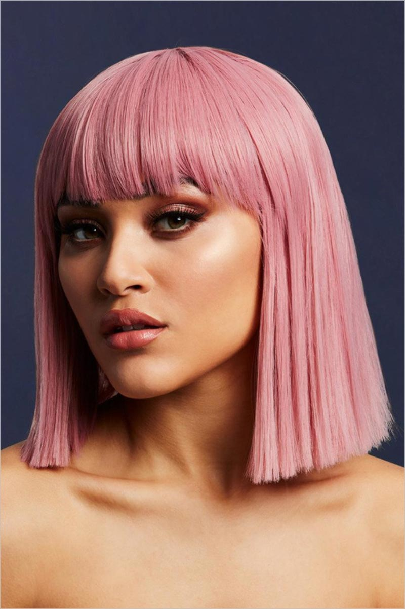 Fever Wigs Lola Wig - Ash pink
