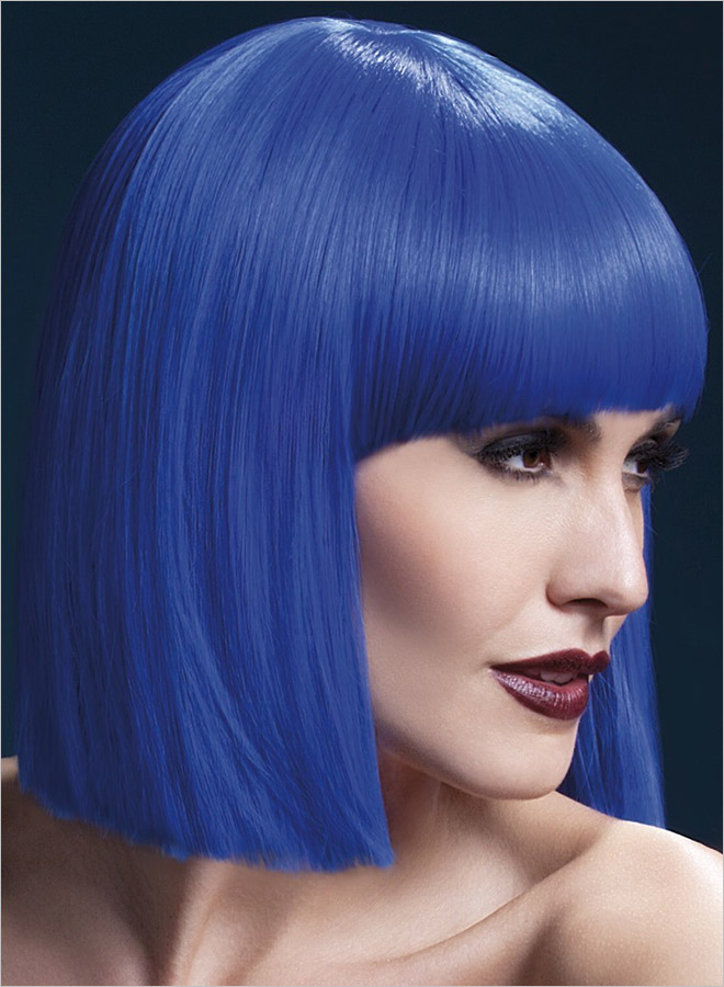 Fever Wigs Lola Wig - Blue