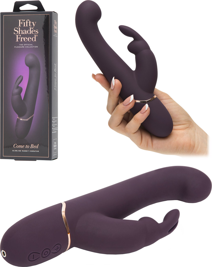 Fifty Shades Freed Come to Bed - Rabbit Vibrator