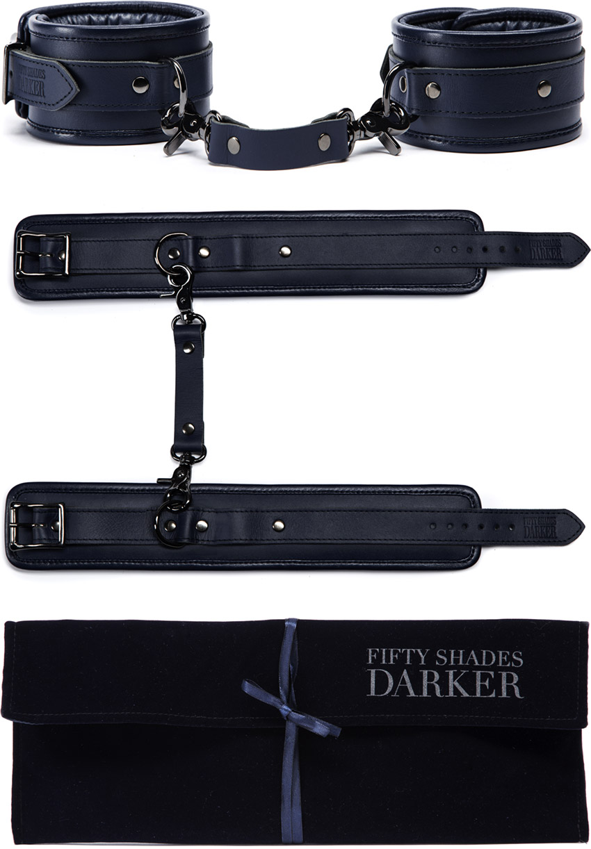 Fifty Shades Darker ankle restraints (Limited Edition)