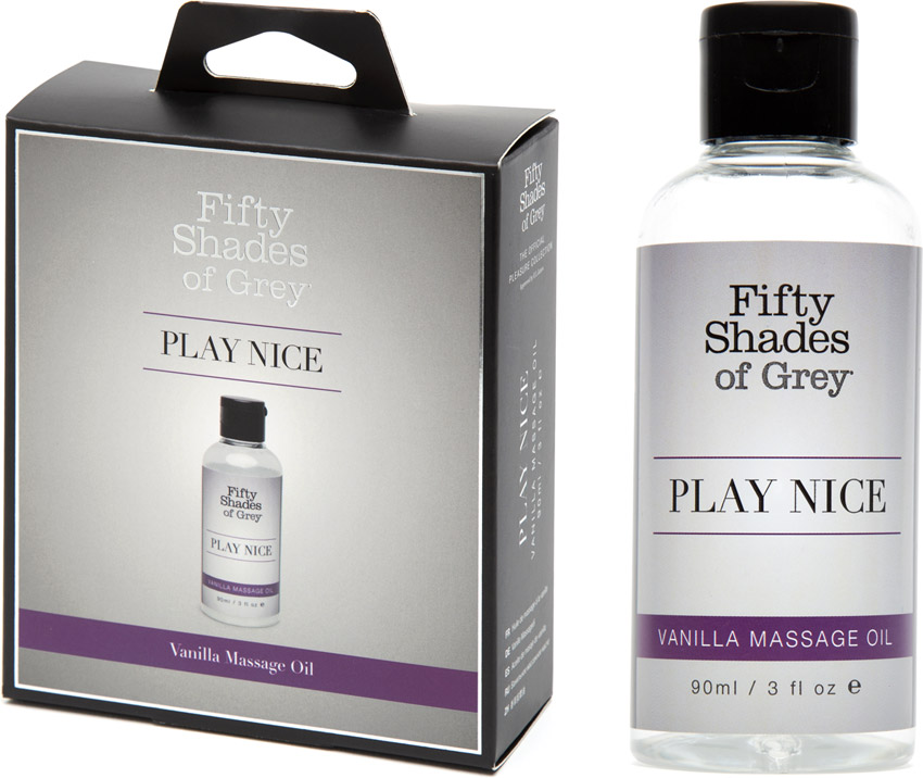 Huile de massage Fifty Shades of Grey Play Nice - Vanille - 90ml