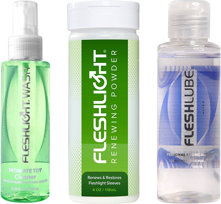 Maintenance pack for Fleshlight & Fleshjack