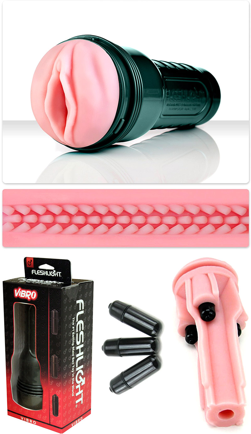 Fleshlight Vibro Pink Lady Touch Masturbator