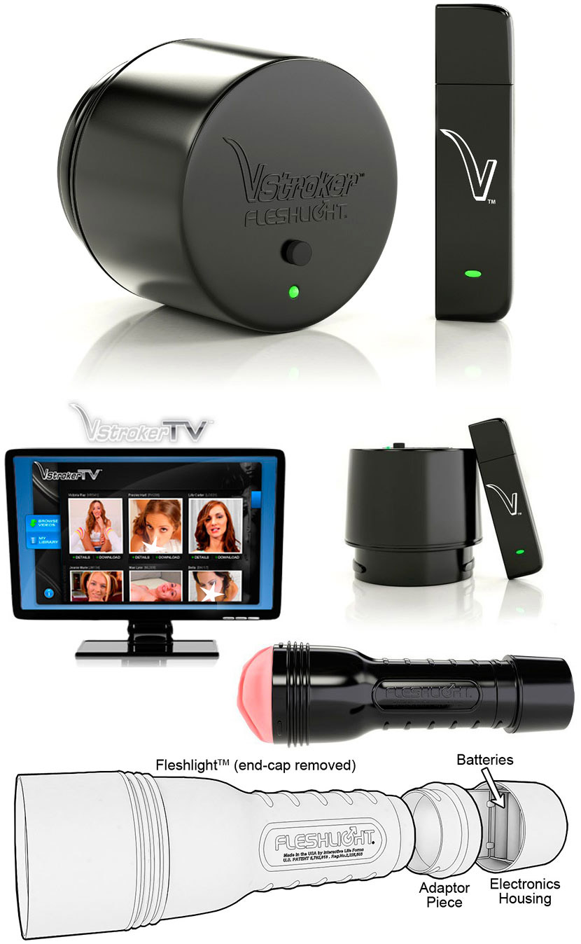 Fleshlight VStroker - Virtuelle Sex System