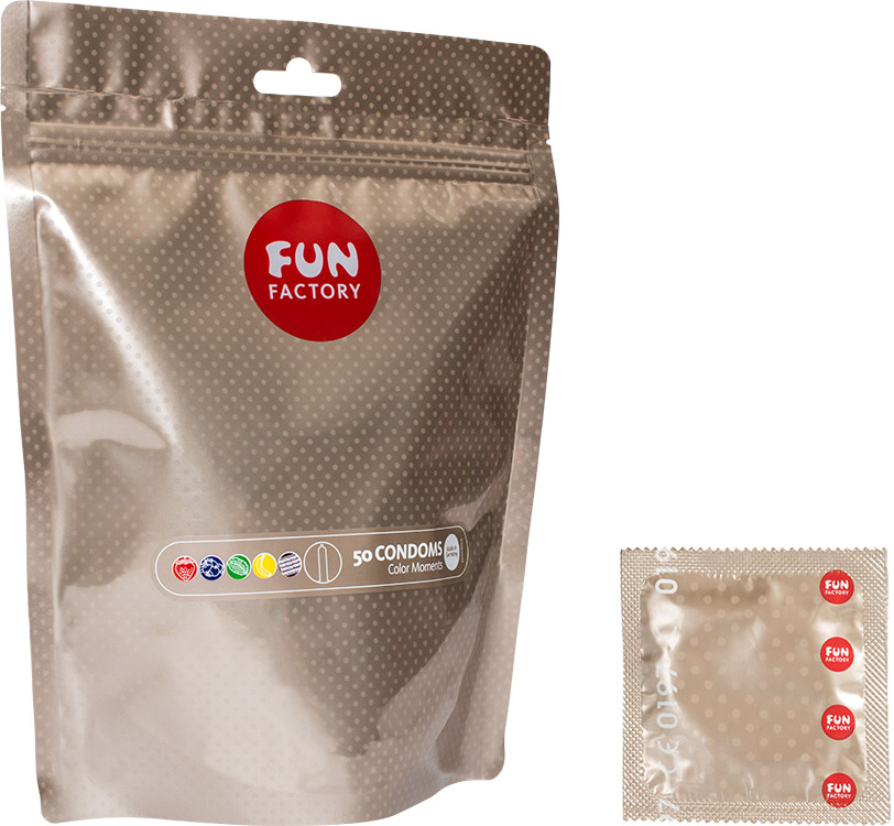 Fun Factory Color Moments (50 Condoms)