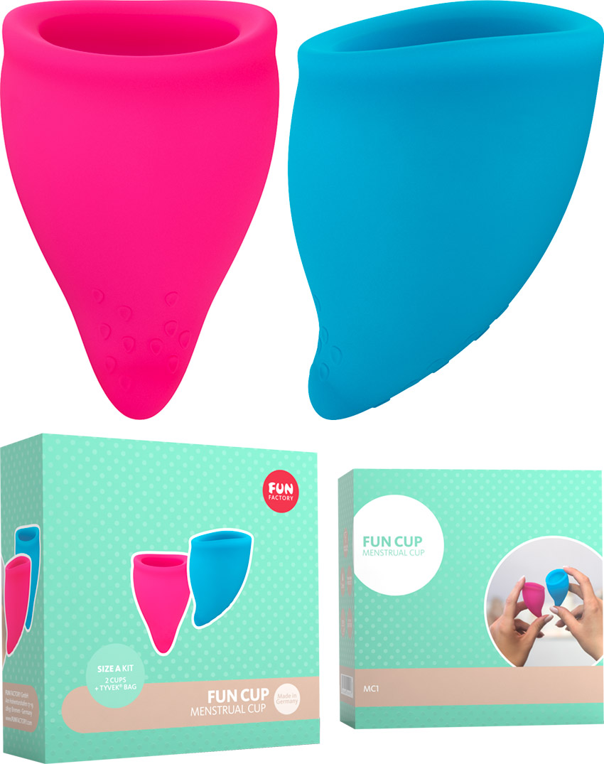 Fun Factory Fun Cup - Coupe menstruelle - Taille A (2 pces)