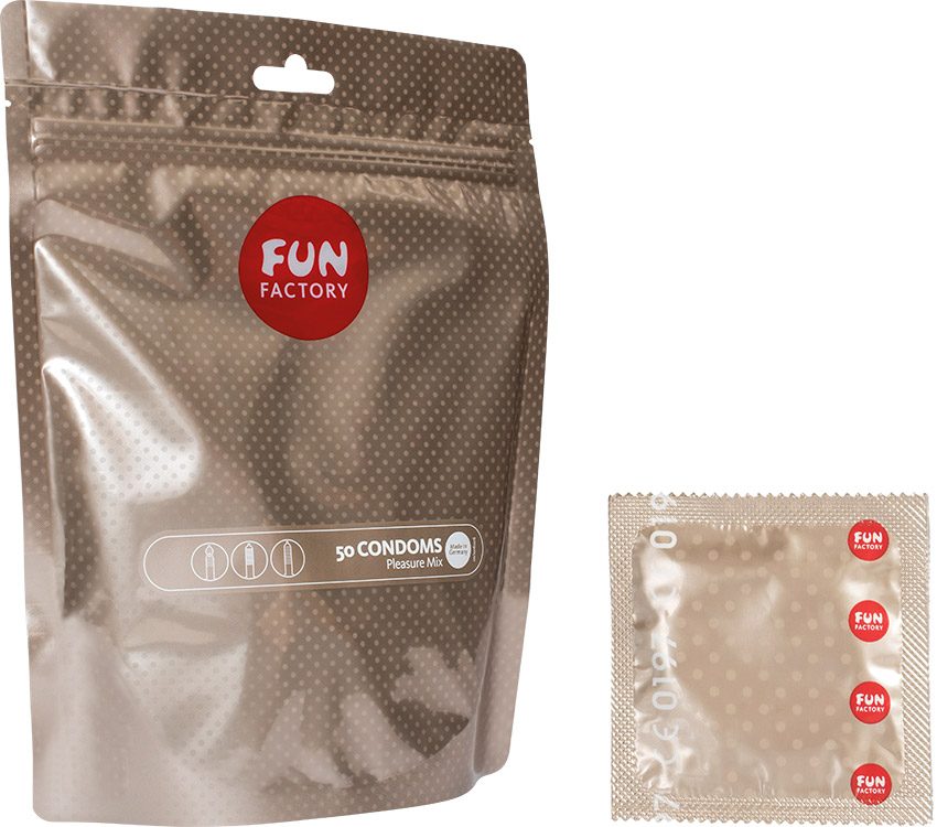 Fun Factory Pleasure Mix (50 Condoms)