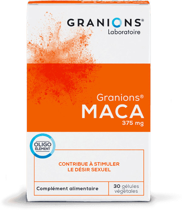 Granions Maca - Stimulant & libido booster for him & her - 30 capsules