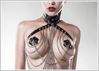 Grey Velvet 15138 harness set - 3 piece - Black (XS/L)