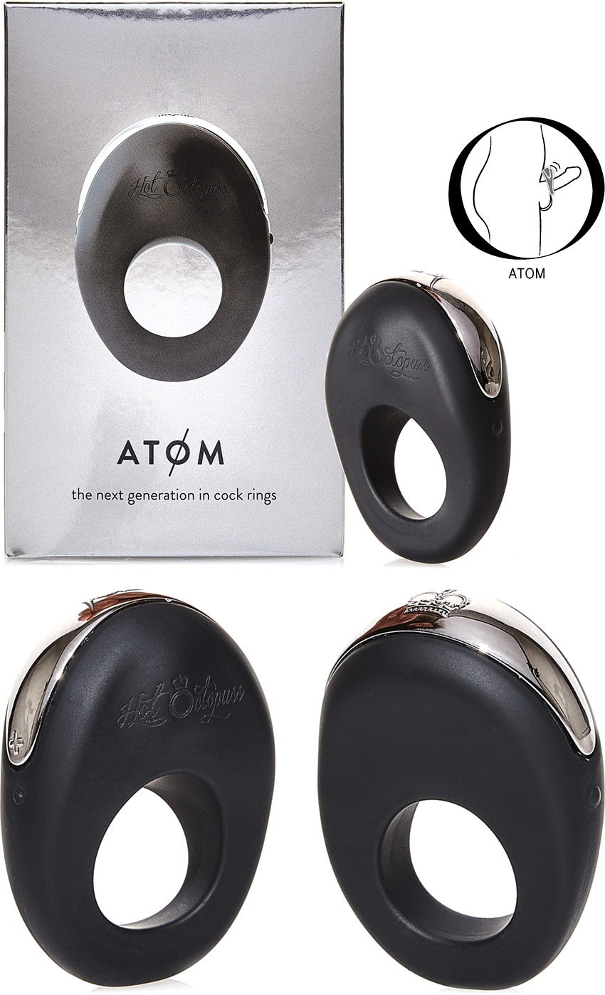 Hot Octopuss ATOM vibrating penis ring