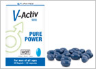 V-Activ Men - Power Pills for Men - 20 capsules