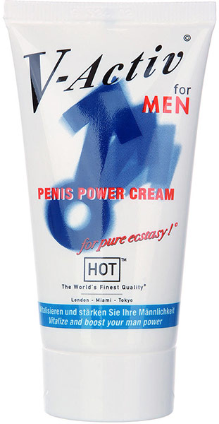 V-Activ Men - Penis Power Cream (für Ihn) - 50 ml