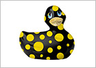 Canard Vibrant I Rub My Duckie 2.0 Happiness - Noir & jaune (Mini)