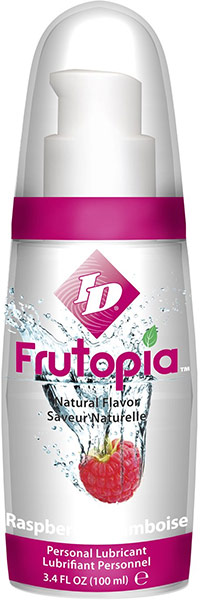 ID Frutopia Lubricant - Raspberry - 100 ml (water based)