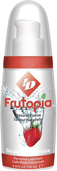 ID Frutopia Lubricant - Strawberry - 100 ml (water based)