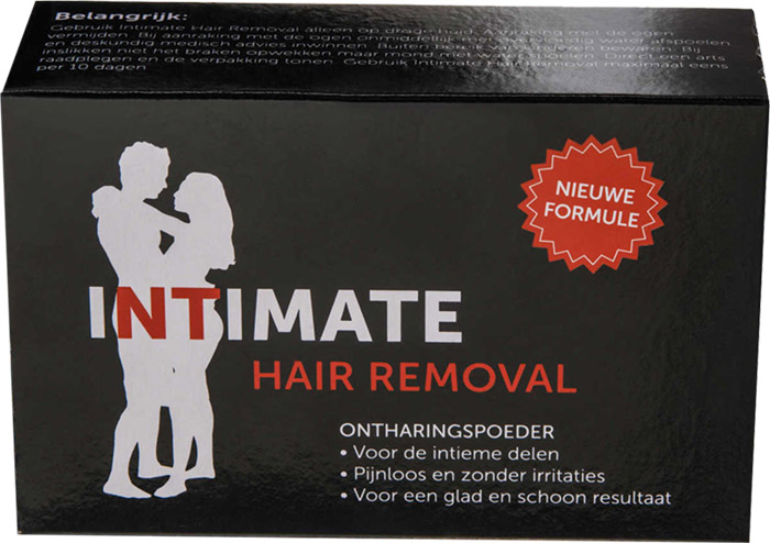 Intimate Hair Removal Depilatory powder for intimate areas