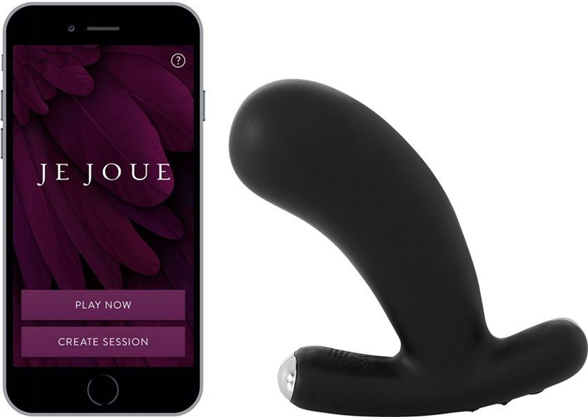 Je Joue Nuo v.2 Vibrating and connected butt plug
