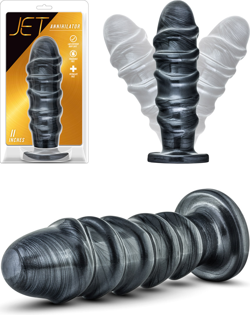 Plug anal XXL Blush Novelties JET Annihilator