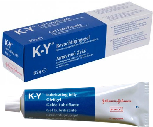 K-Y Lubricating Jelly - 82 g (water based)