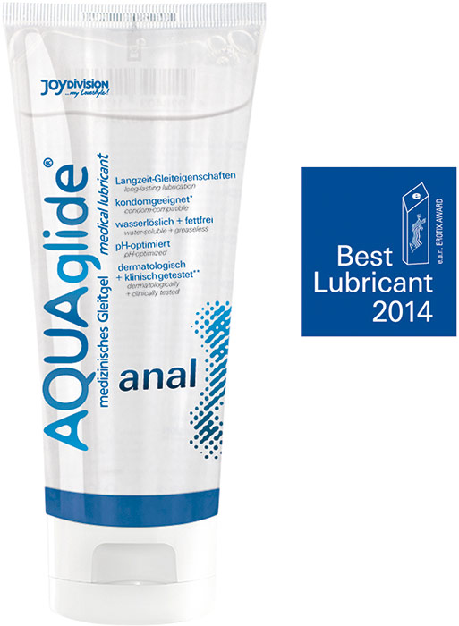 JoyDivision AQUAglide Anal Lubricant - 100 ml (water based)