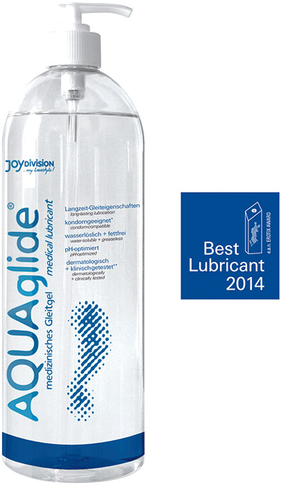 JoyDivision AQUAglide Lubricant - 1 l (water based)