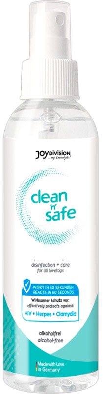 Clean'n'Safe Sextoy Cleaner - 200 ml