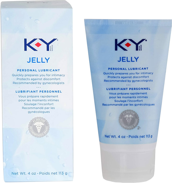 Gel lubrifiant K-Y Jelly - 113 g (à base d'eau)