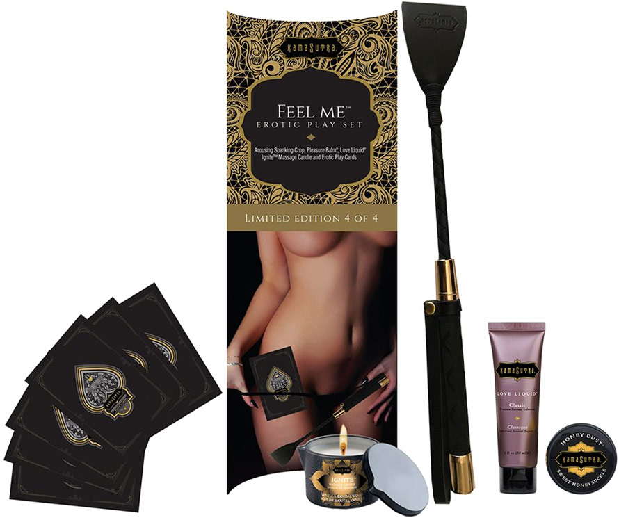 Kama Sutra Feel Me erotic box set (Limited Edition)