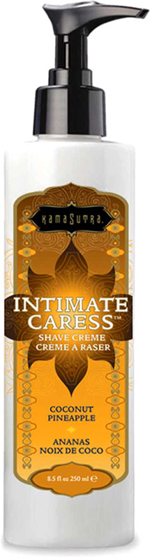 Kamasutra Intimate Caress - Rasiercreme - Kokosnuss