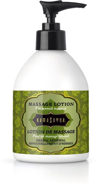 Lotion de massage Kamasutra - Herbes revigorantes