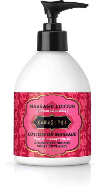 Kamasutra Massage Lotion - Strawberry Dreams