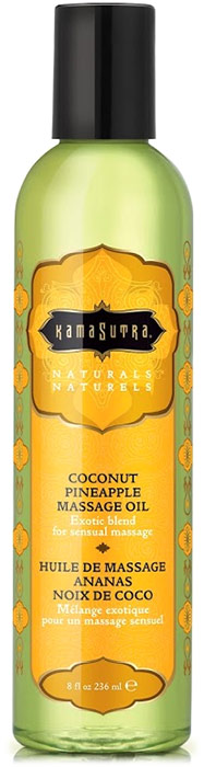 Kamasutra Naturals Massage Oil - Coconut & Pineapple