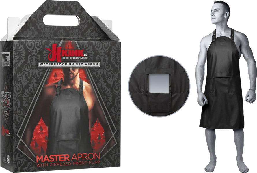 Doc Johnson Kink Master Apron BDSM apron with opening