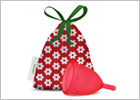 LadyCup Menstrual Cup - Small (Cherry)