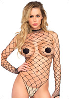 Leg Avenue Body String Fence - Noir (S/L)
