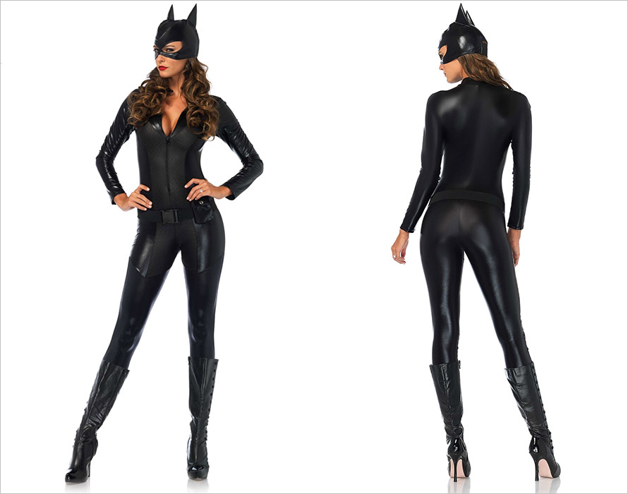 Leg Avenue Captivating Crime Fighter Catwoman Costume (M)