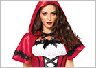 Leg Avenue Red Riding Hood Gothic Costume (L)