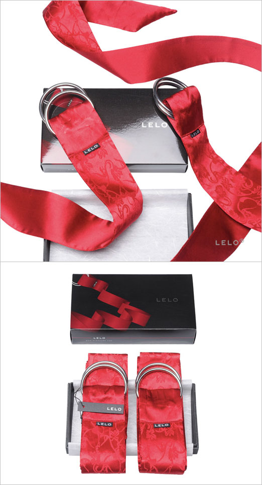 LELO Boa Silk Pleasure Ties - Red