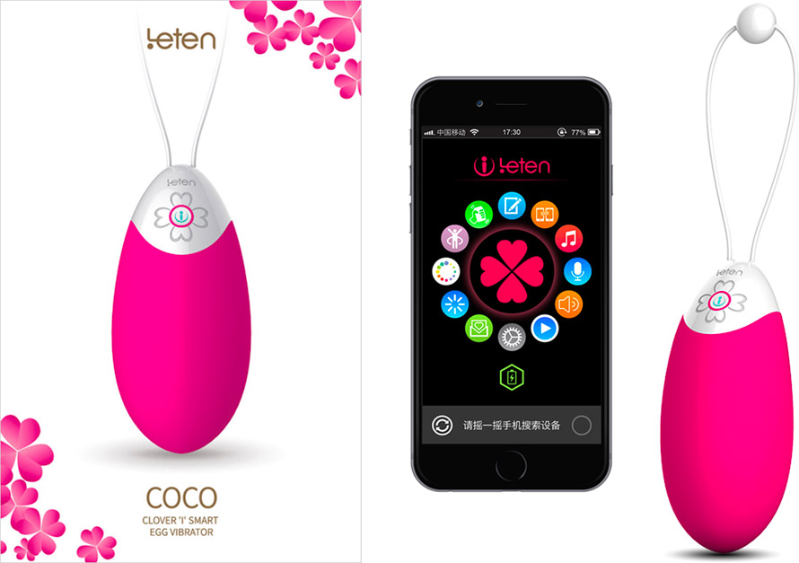 Leten Coco connected vibrating egg